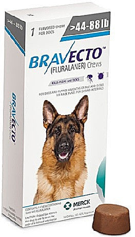 Bravecto Dog - Use Dropdown to Make Your Selection