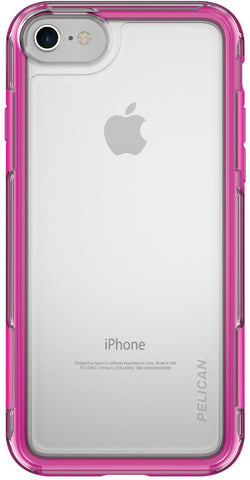 Adventurer Case for Apple iPhone 7 - Clear Pink