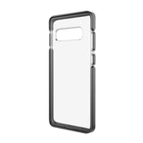 Ambassador Case for Samsung Galaxy S10+ (PLUS SIZE) - Clear Black Silver