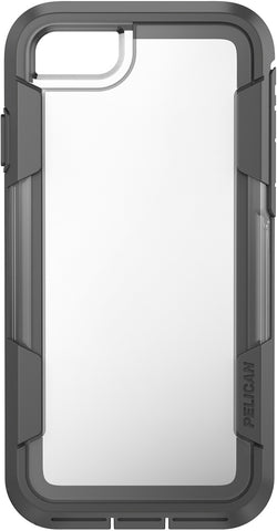 Voyager Case for Apple iPhone 7 - Clear Gray