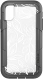 Voyager Case for Apple iPhone X / Xs - Floral Gray