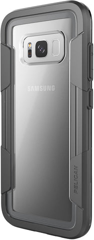 Voyager Case for Galaxy S8 - Clear Gray