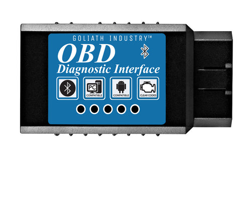 KOBRA OBD2 Scanner Bluetooth Scan Tool Adapter - Wirelessly Feeds Your Cars Data To Your Phone! Check Engine Light Eliminator! Car Code Reader for Android & Windows Devices