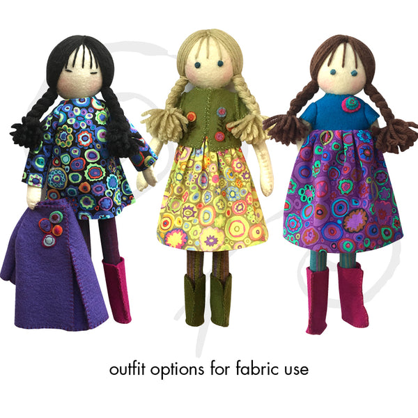 Lily and friends, Colourway 10