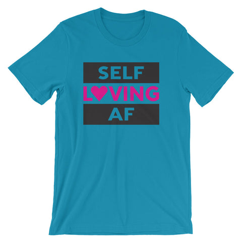 SELF LOVING AF jersey shirt