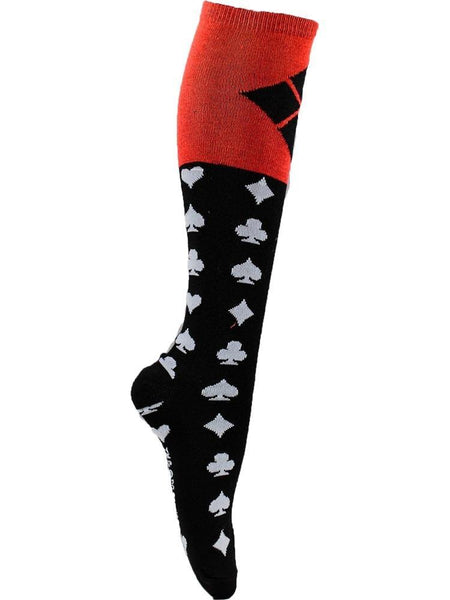 HARLEY QUINN Black - The Sock Bar Novelty Socks