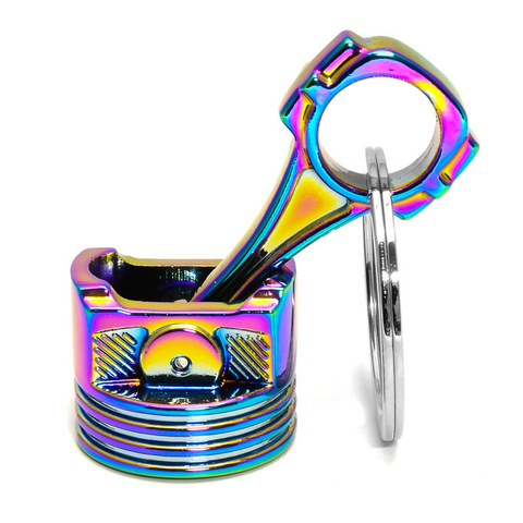 Tuned. Piston Keyring (Neochrome)