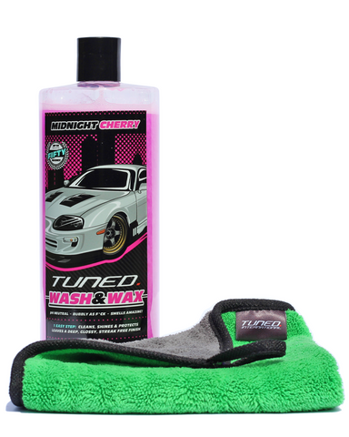 Tuned. Car Care Starter Pack