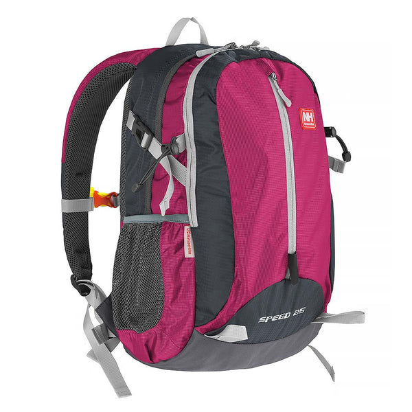 NatureHike 25L Lightweight Day Pack front view in Rose pink