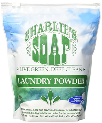 Charlie's Soap Powder Detergent - 200 washes- 2 pack