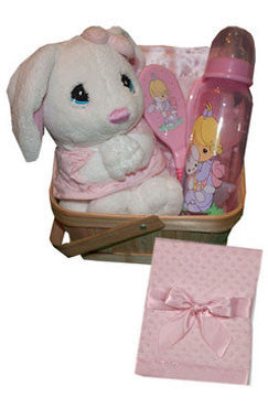 Praying Doll Precious Moments Baby Gift Basket