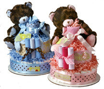 It's a Boy--It's a Girl Bear diaper cake