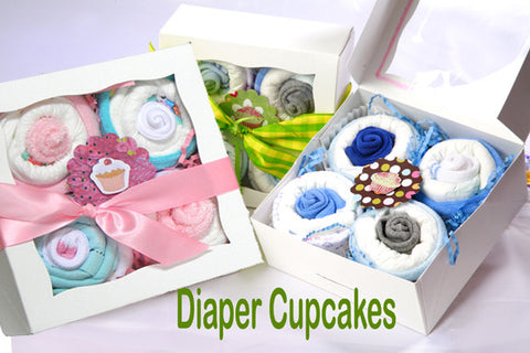 Baby Sweet Shoppe Diaper Cupcakes