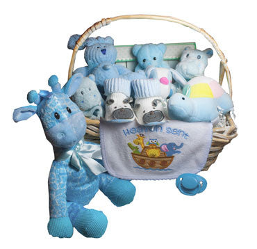 Noah's Ark Boy Gift Basket