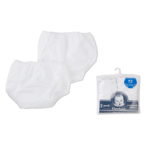 Gerber Waterproof Pants Diaper Cover 2pk