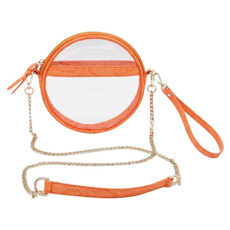 The Mini Roundie- Tangerine | POLICY Handbags | POLICY Handbags