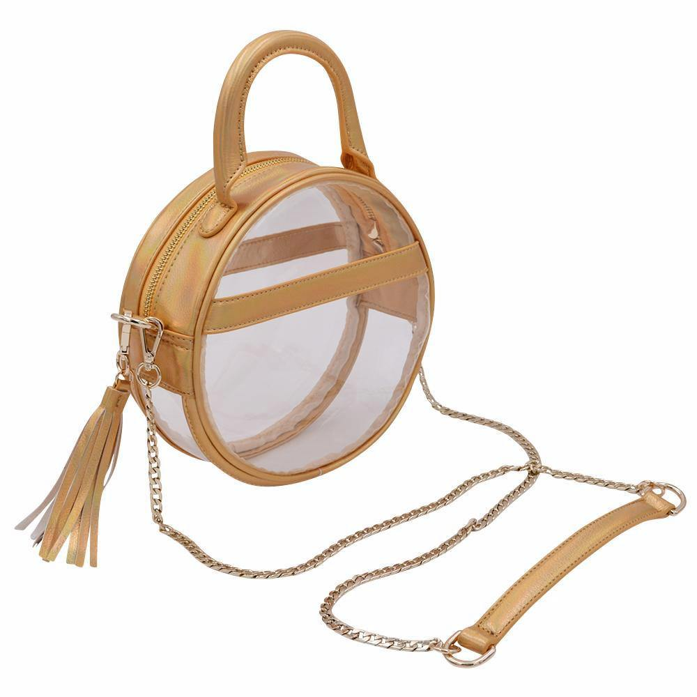 The Roundie Halo- Gleaming Gold | POLICY Handbags | POLICY Handbags