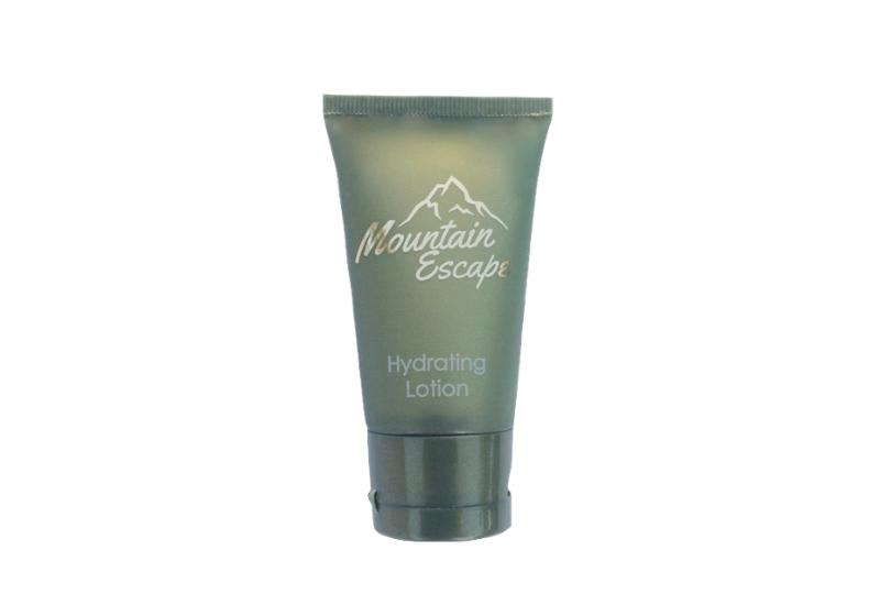 mountain escape hotel size lotion
