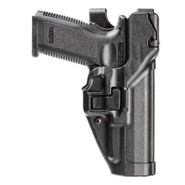 Serpa Auto Lock Duty Holster Level 3 | Black | Molded Polymer | Right