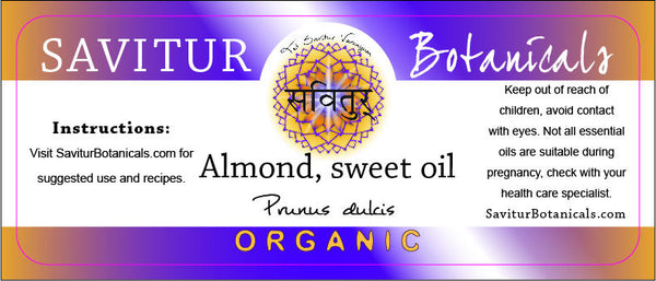 BULK Almond Oil, Sweet