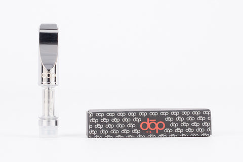 dōp® discreet glass oil cartridge-wickless dual coil