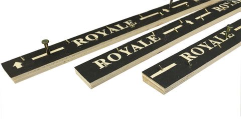 Royale Wood Carpet Gripper Rods - 40ft Pack (12metres)