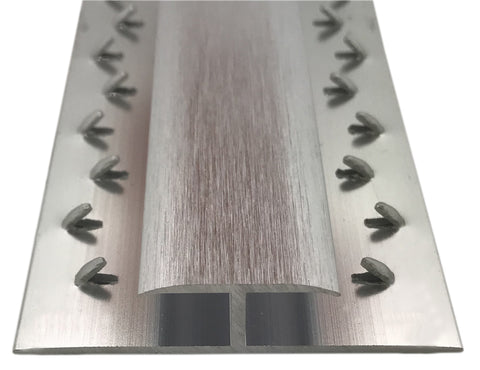 Prestige Dual Edge - Carpet to Carpet Doorway Trim Strip Gripper