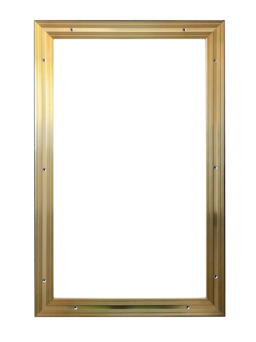 Matwell Frame For Entrance Matting - Gold / Brass Colour