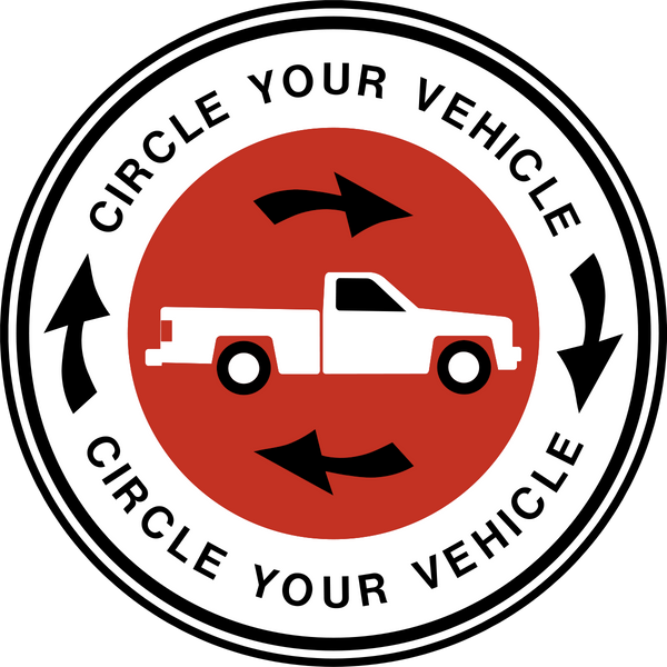 Vehicle Check - Western Safety Sign