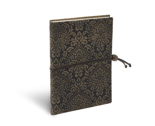 Suede Leather Journal in Espresso brown by Epica