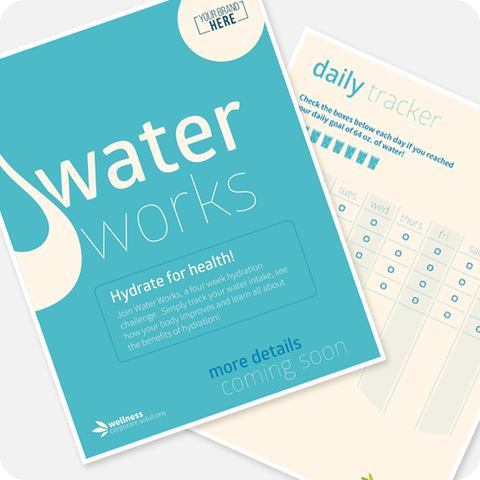 Water Works: Healthy Habits Challenge