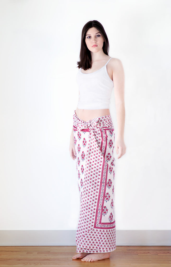 Sarong in Rosy Posy