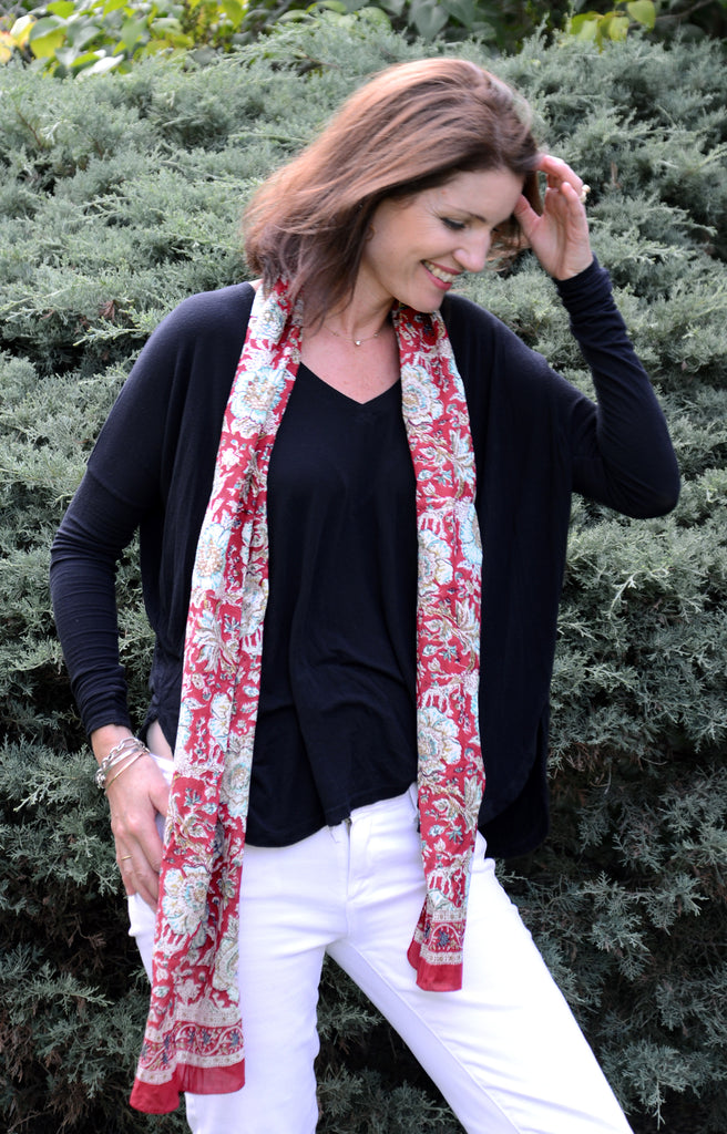 Scarf in Summer Solstice