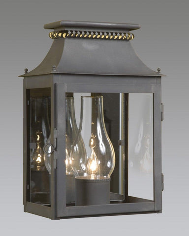 Cut Design Top Lantern With Finials LEWM-2