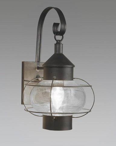 Caged Onion Lantern With Hook Backplate LEWM-32A