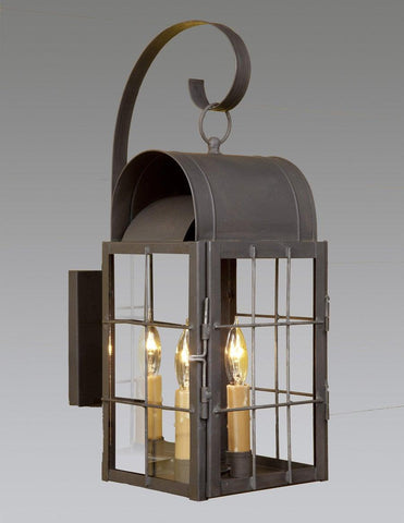 Caged Barn Lantern With Hook LEWM-50