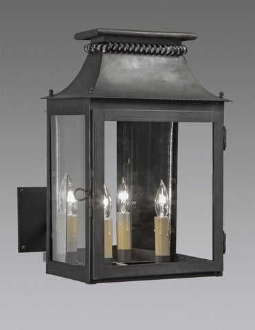 Cut Out Design Lantern With Custom Extended Wall Bracket LEWM-60