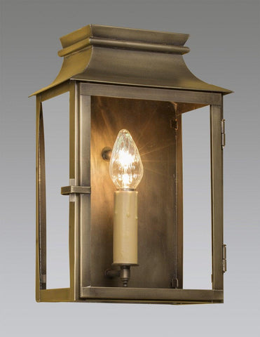 Brass Lantern With Open Bottom LEWM-79