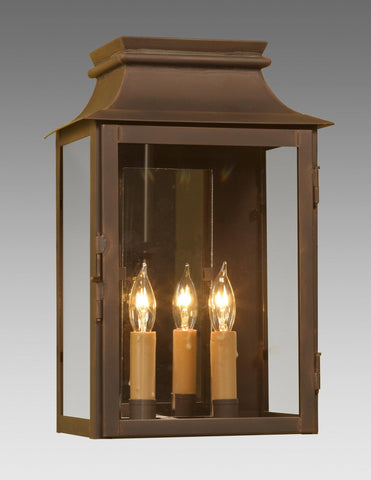 Mirror Back Station Lantern LEWM-42