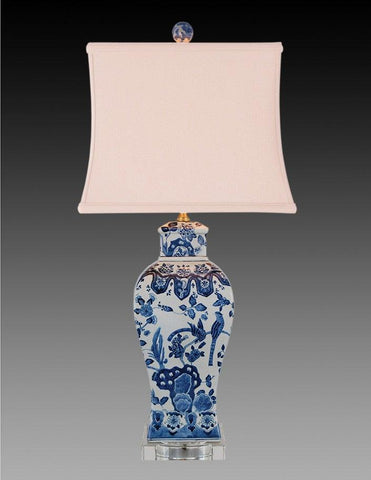 Porcelain Style Blue And White Lamp LPT-8