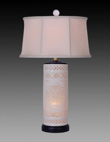 Bone China Pierced Lamp LPT-34