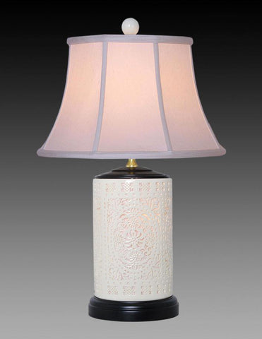 Bone China Pierced Lamp LPT-33