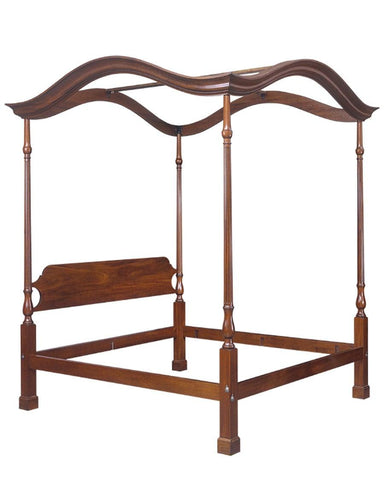 Chippendale-Style-Bed-With-Optional-Salem-Headboard-FBBE-10