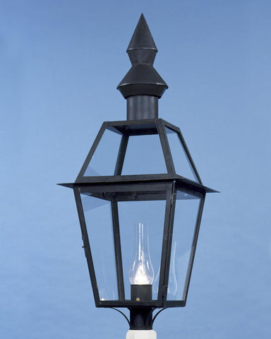 Post Mount Double Cone Top Lantern LEPM-11