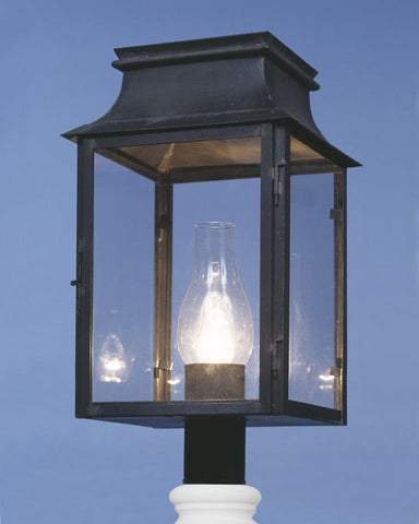Post Mount Station Lantern LEPM-6