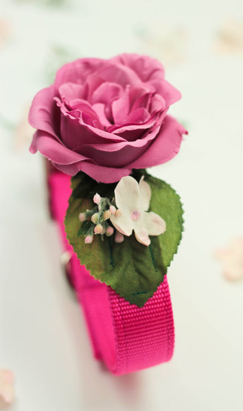 """BARX + BLOOMS NEW RELEASE: ""Pretty In Pink"" Collar"