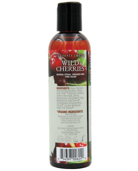Intimate Earth Lubricant - Wild Cherries