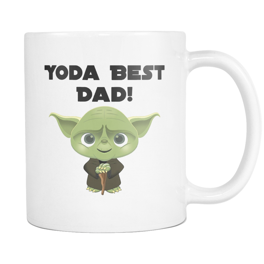 Yoda Best Dad 11 & 15oz Mugs