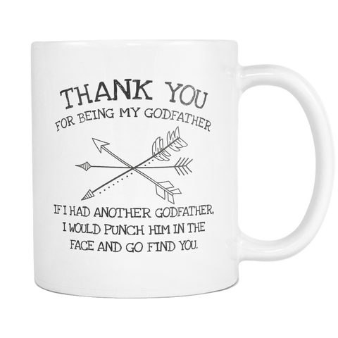 Thank you for being my godfather 11 and 15oz Mug