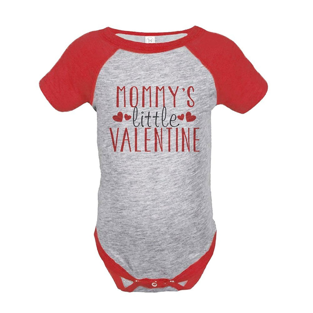 7 ate 9 Apparel Baby Boy's Mommy's Little Valentine Onepiece